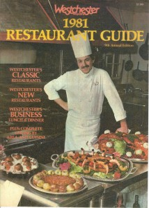 1980's french chef westchester magazine cover 1981 bernard le bris