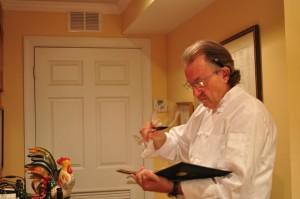 chef bernard catering wine pairings