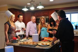 cooking class at home french chef NYC